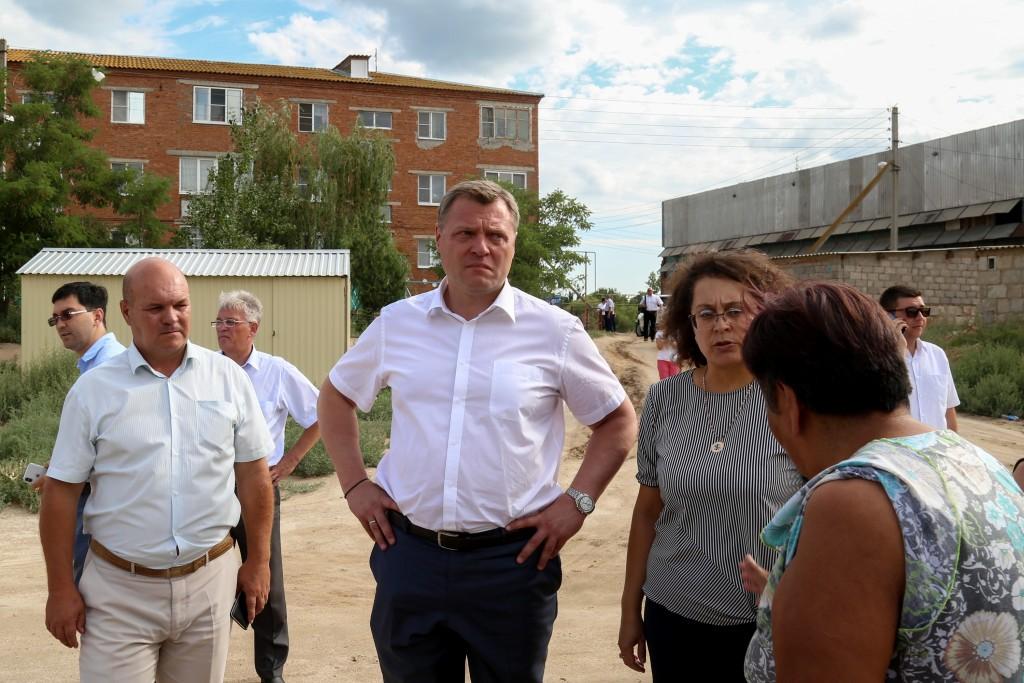 Жители Икрянинского района рассказали о своих проблемах Игорю Бабушкину