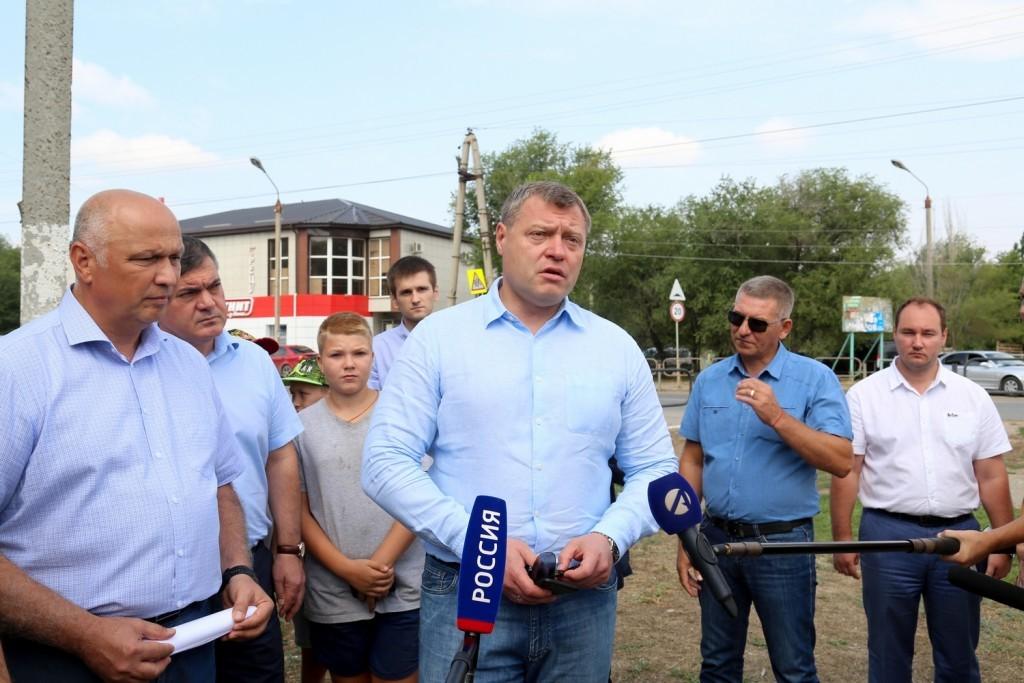 Игорь Бабушкин предложил жителям окраин Астрахани смотреть вперед, а не назад