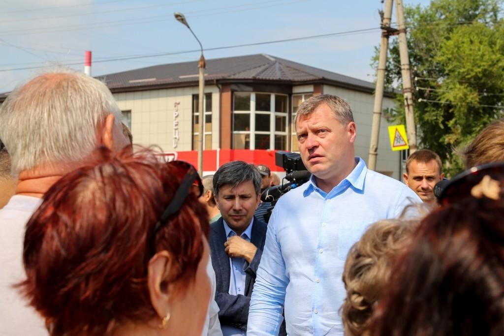 Игорь Бабушкин из первых уст узнал о проблемах жителей окраин Астрахани