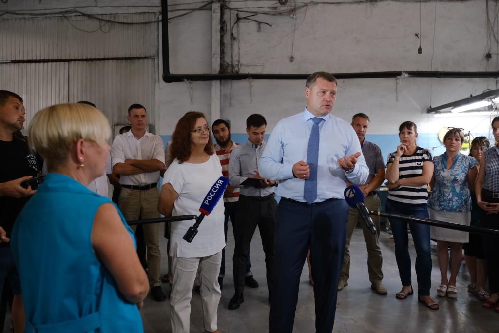 Рабочие фабрики «Дюна-АСТ» рассказали Игорю Бабушкину о своей жизни