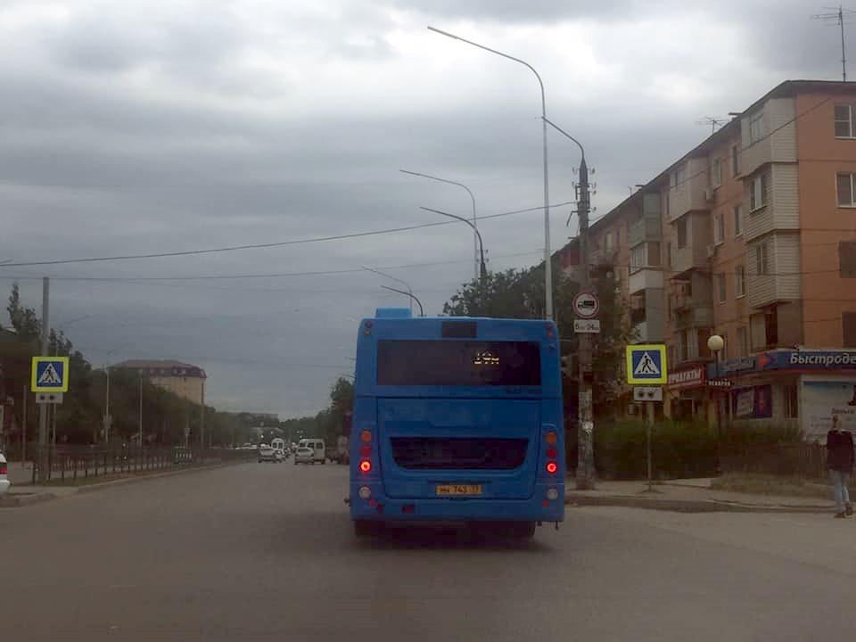 Новые автобусы в Астрахани вышли на третий маршрут