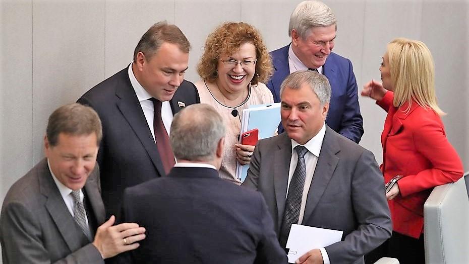 Володин призвал депутатов Госдумы работать по-новому