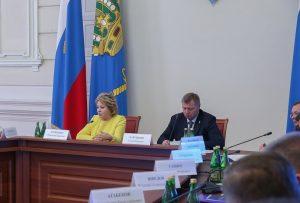 Матвиенко назвала основные преимущества Астраханской области