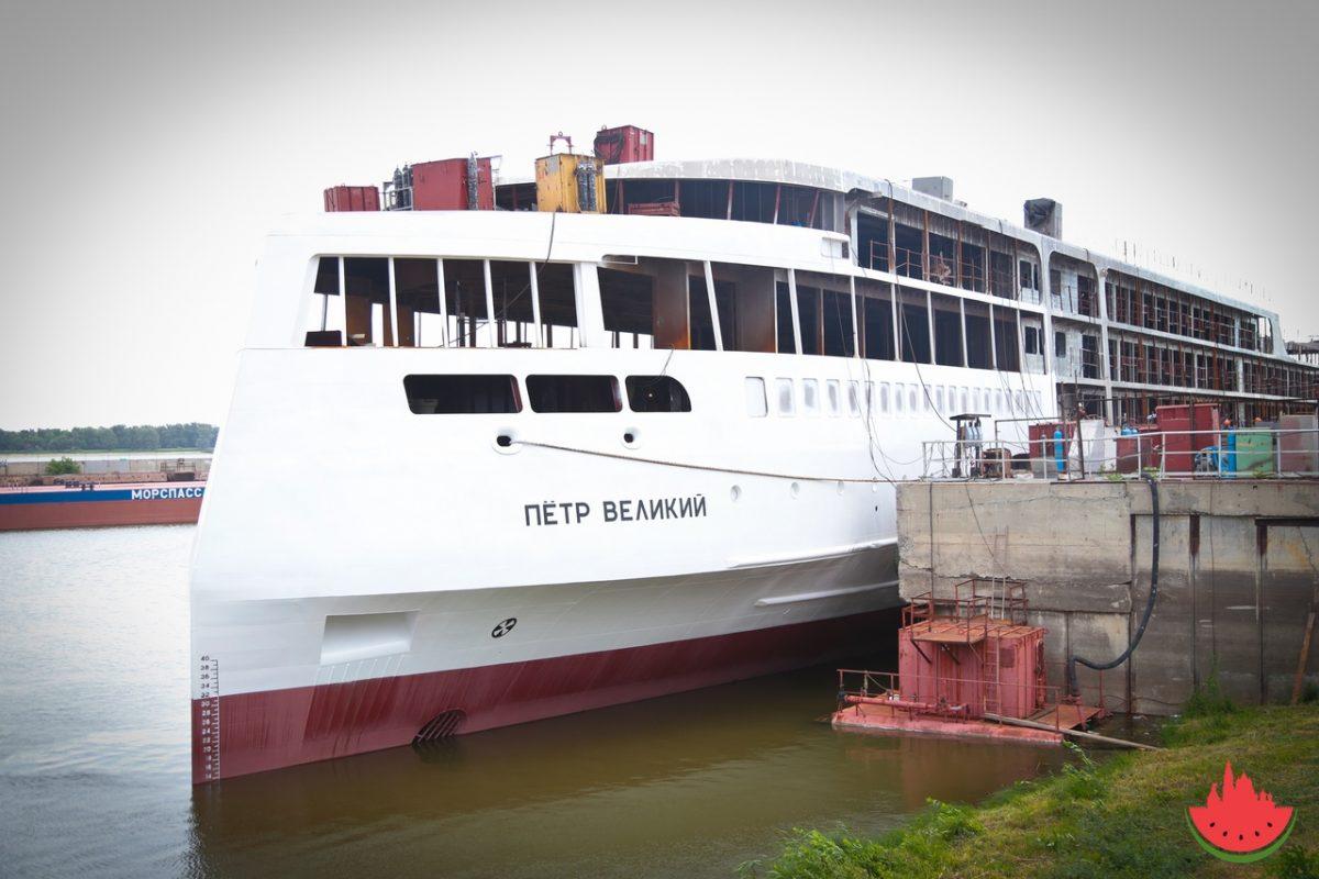 Стоимость лайнера «Петр Великий» выросла сразу на 1 млрд рублей
