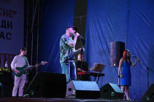 Гоша Куценко выступил перед астраханцами на набережной
