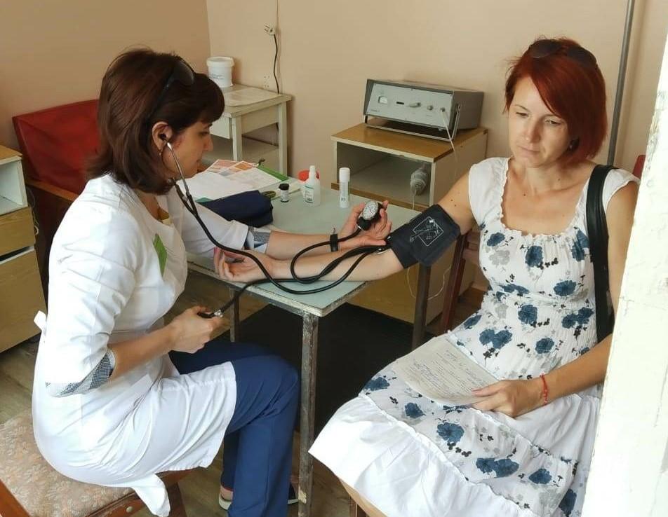 Передвижной консультативно-диагностический комплекс АМОКБ продолжает работу в селах Астраханской области