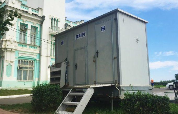 В центре Астрахани появятся адекватные общественные туалеты