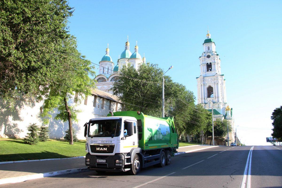 С жителей Астраханской области, не плативших за вывоз ТКО, собирают долги