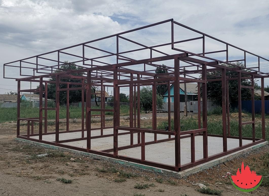 В Астрахани массово строят новые опорные пункты полиции