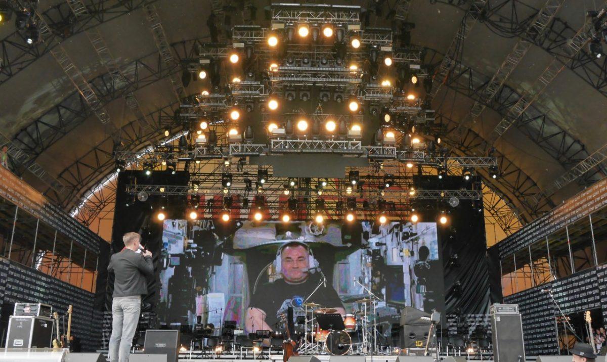 На фестивале «Нашествие» устроили прямую связь с МКС