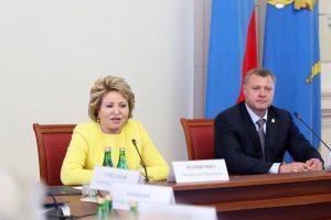 Валентина Матвиенко призвала власти Астраханской области к прорывным решениям