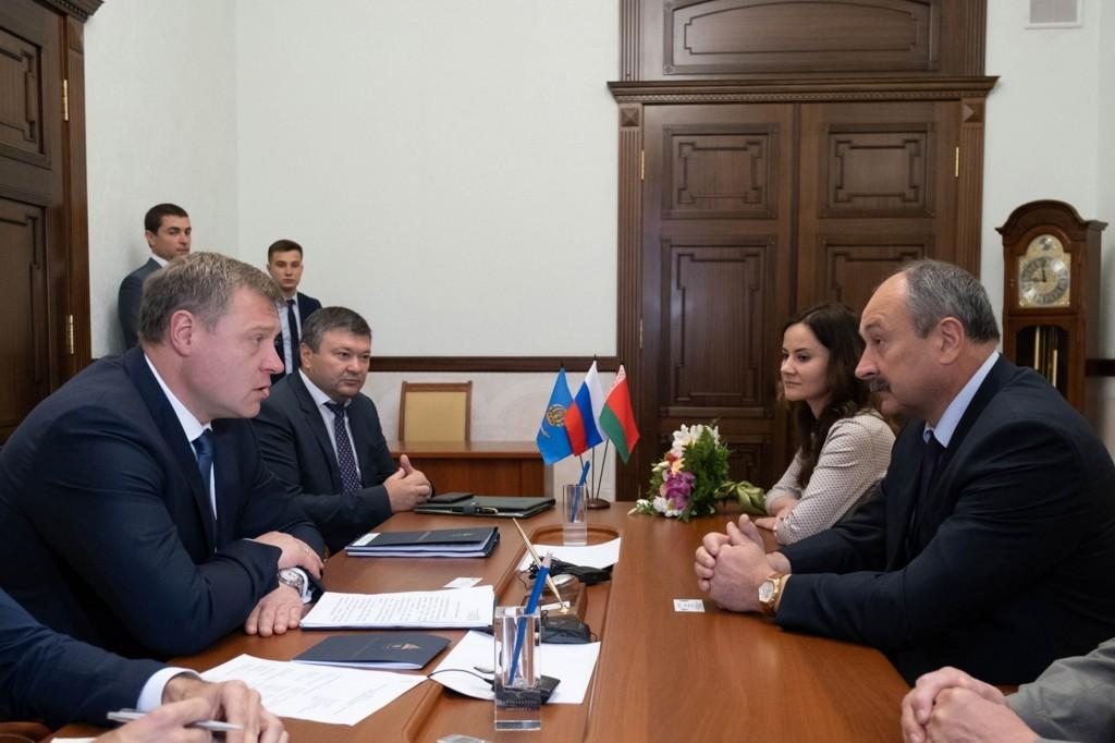 Астраханская область поделится с Республикой Беларусь передовыми технологиями