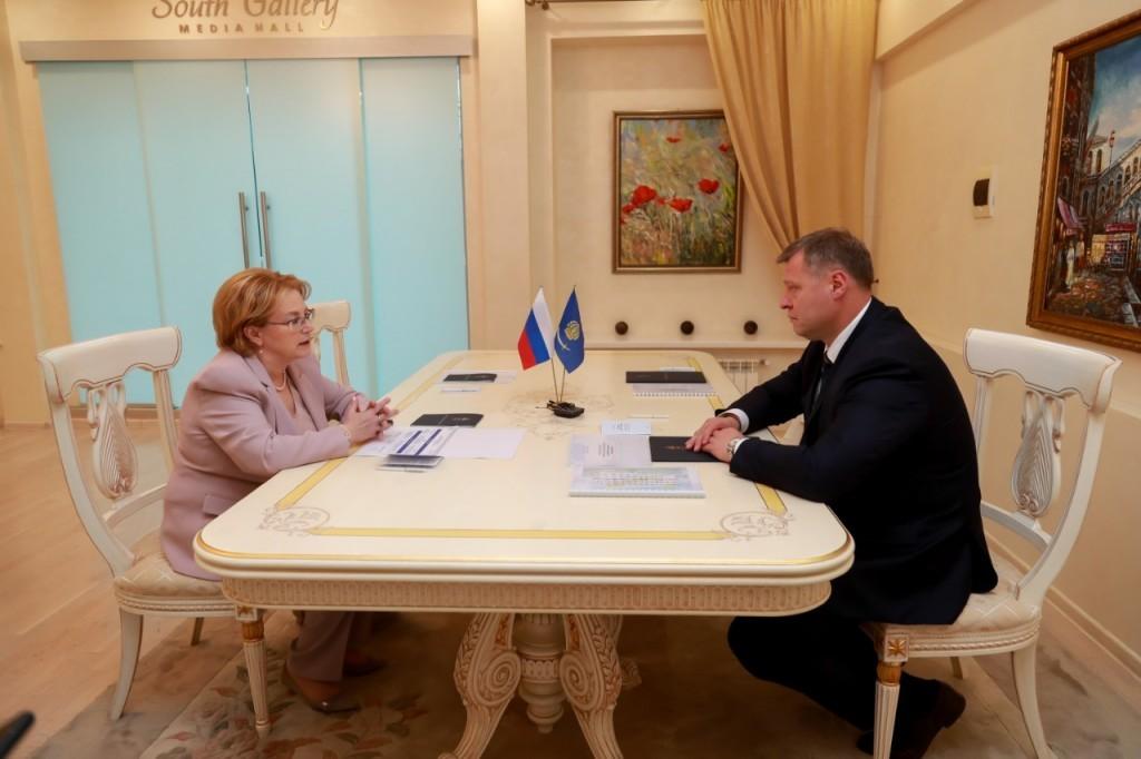 Вероника Скворцова нацелена на большую работу с Астраханской областью
