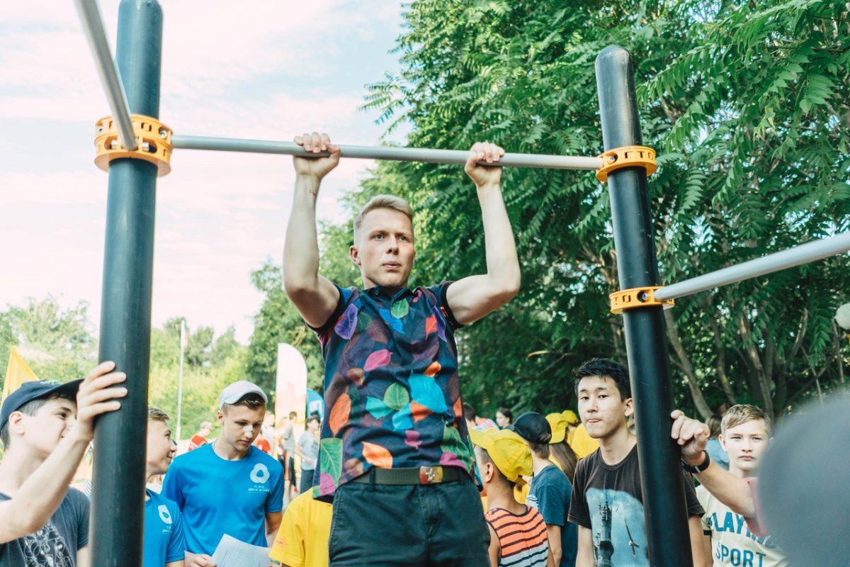 Под Астраханью прошел фестиваль «Лето с ГТО»