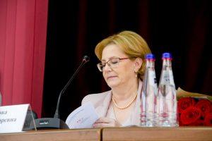 Вероника Скворцова похвалила Астраханский медицинский университет