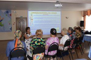 Астраханским пенсионерам рассказали, как не утонуть в реке