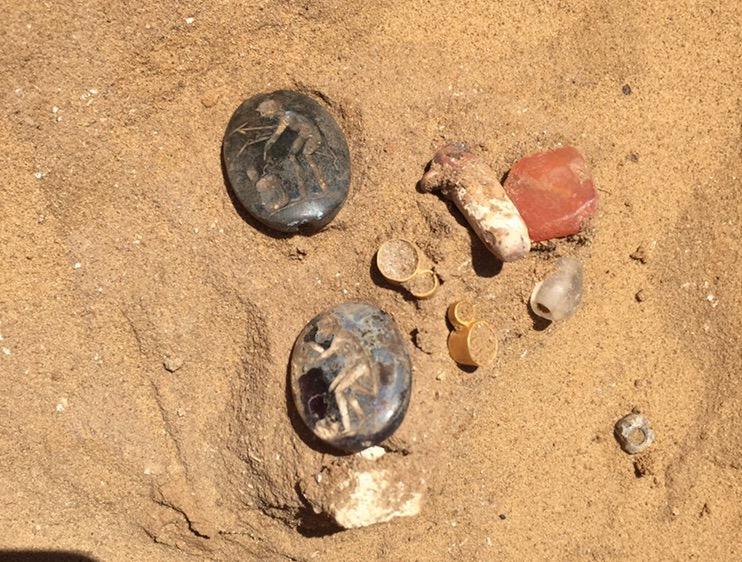 В «яме под мусор» продолжают находить уникальные вещицы сарматов
