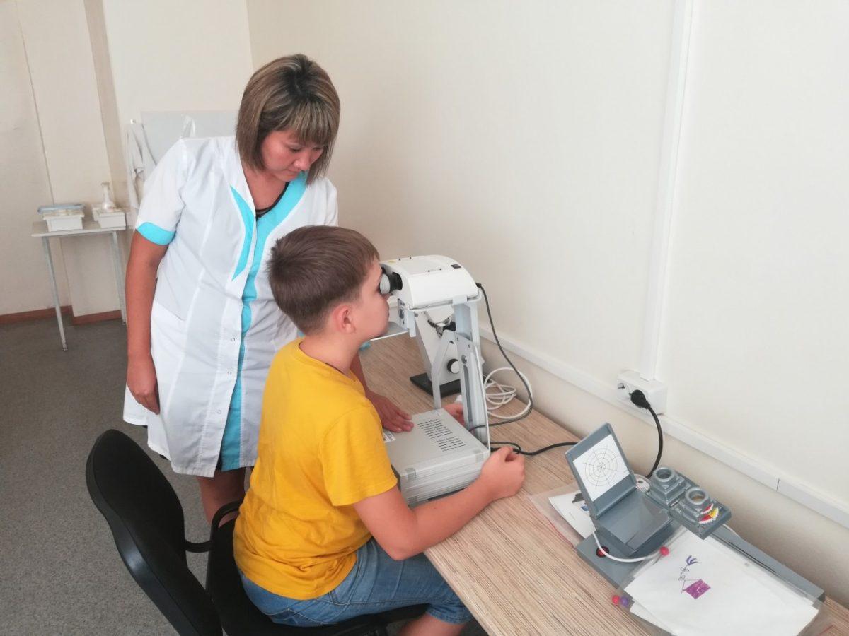 В детской поликлинике №1 введены новые виды офтальмологического исследования и лечения