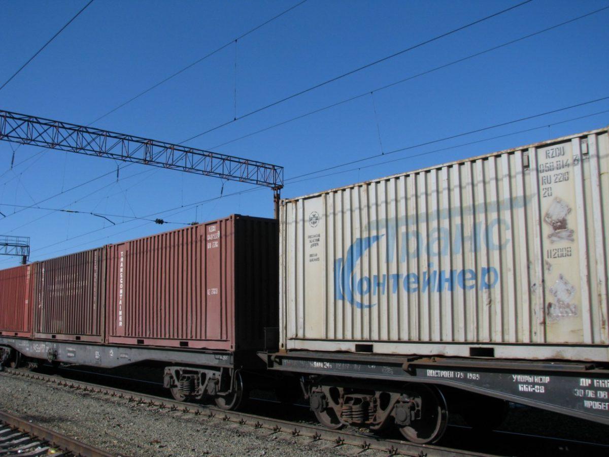 Отправление грузов в контейнерах в Астраханской области возросло в 2,5 раза