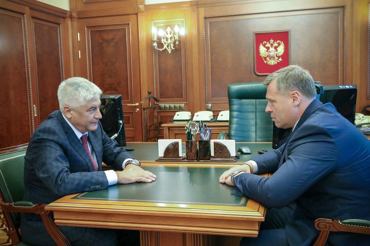 Игорь Бабушкин встретился с главой МВД России