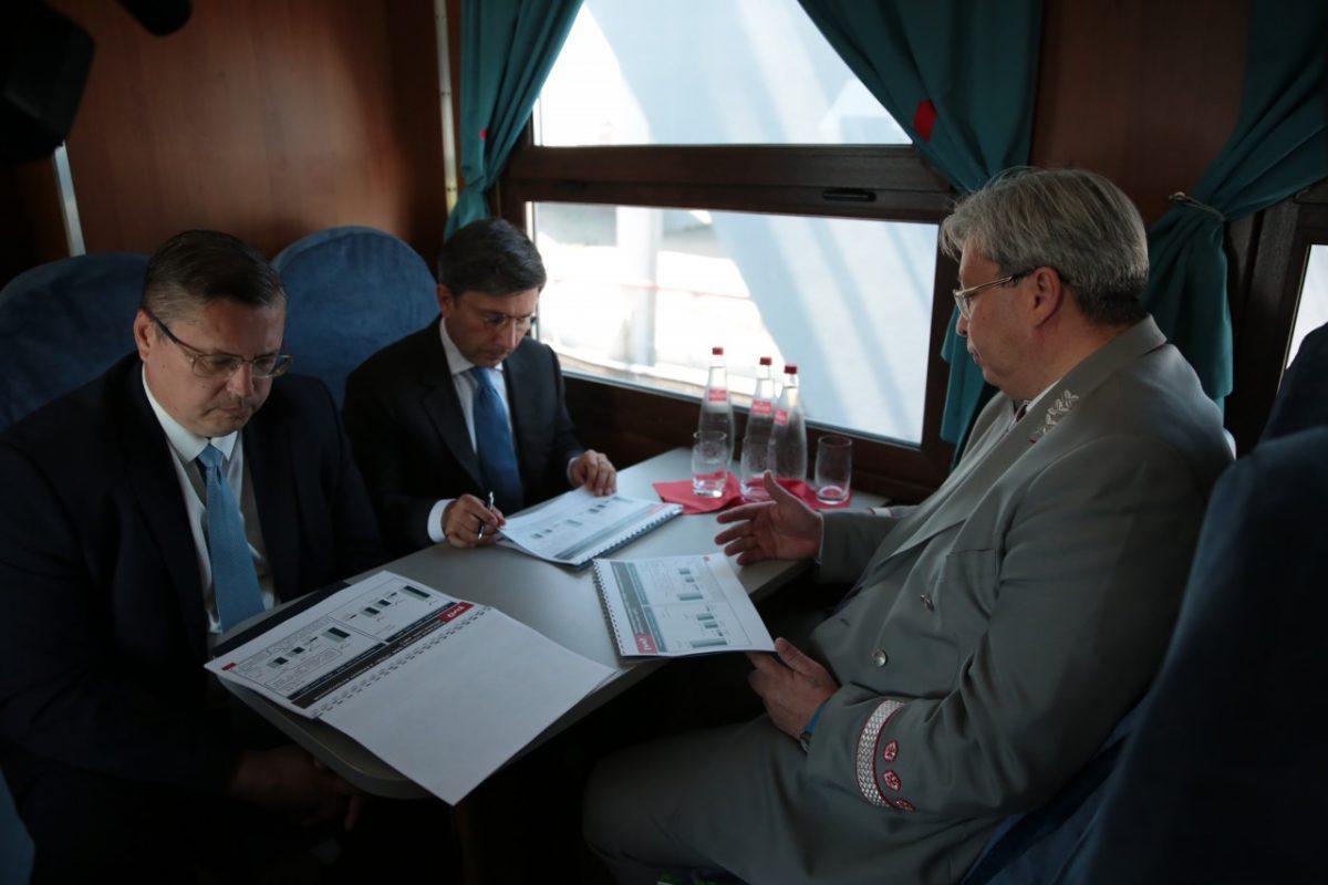 В  Астраханской области провели День Приволжской железной дороги