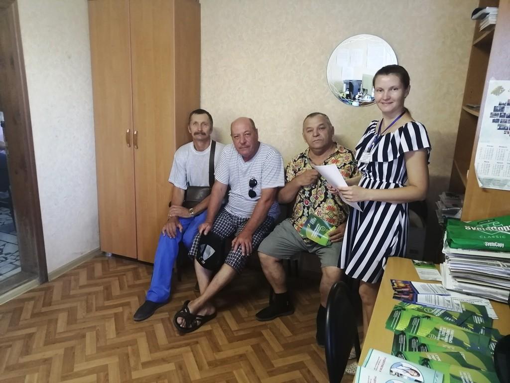 Астраханским предпенсионерам помогают осмыслить свою жизнь