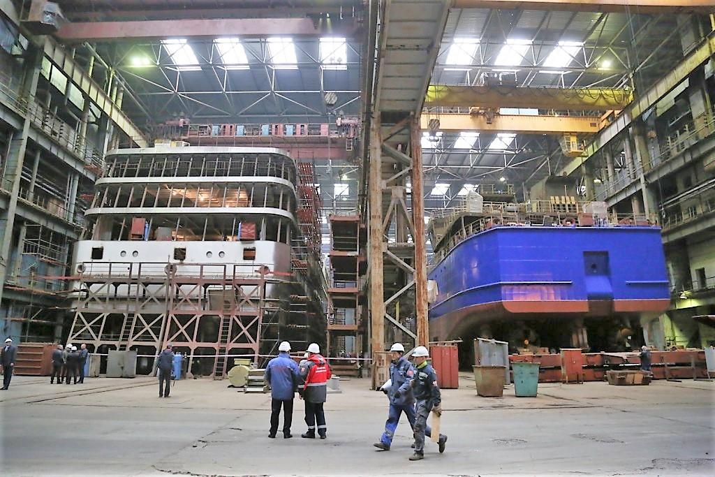 Астраханские судостроители рассчитывают на новые заказы из Туркменистана