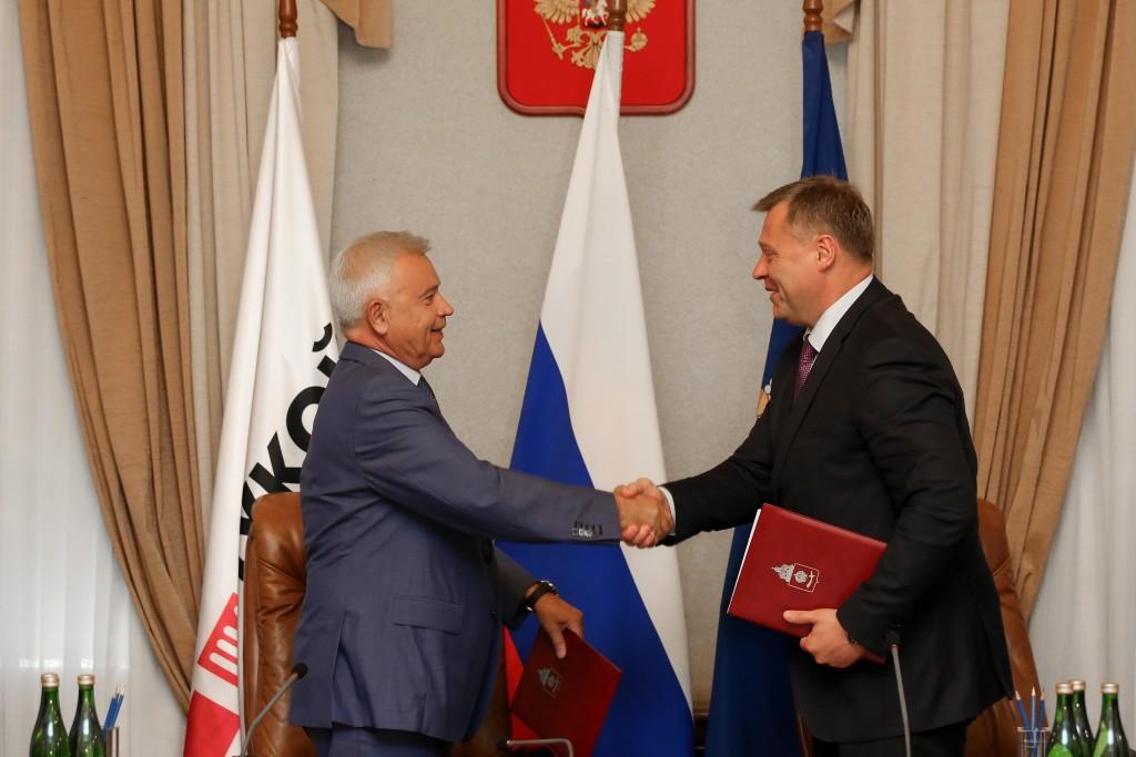 Астраханская область и «ЛУКОЙЛ» подписали новое соглашение о сотрудничестве