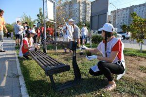 Накануне Дня города общественники «обновили» Астрахань