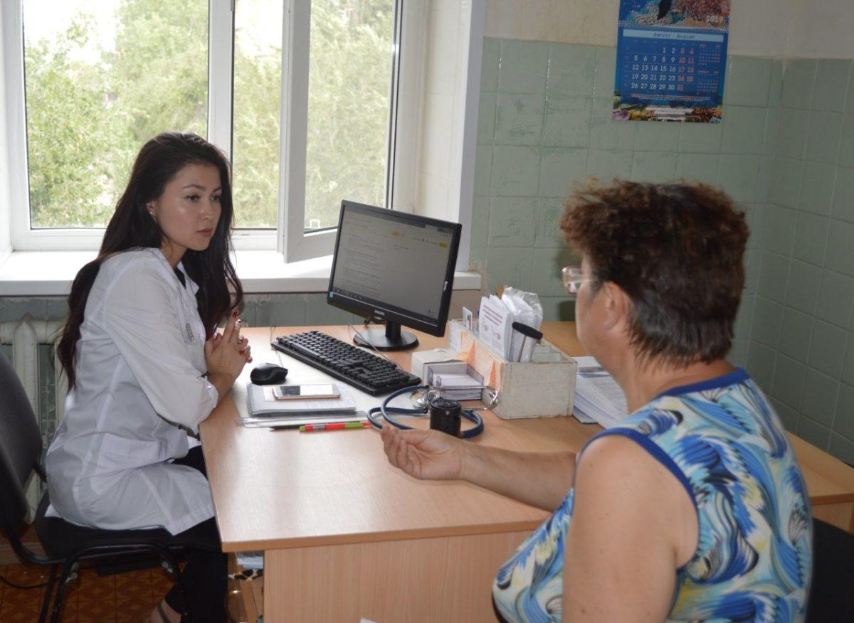 В городской поликлинике №8 имени Н.И. Пирогова работает гериатрический кабинет