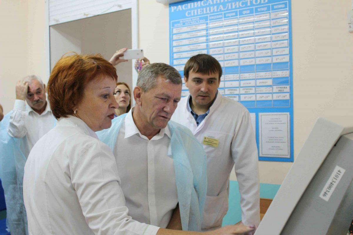 Федор Орлов изучил проблемы медицины Знаменска