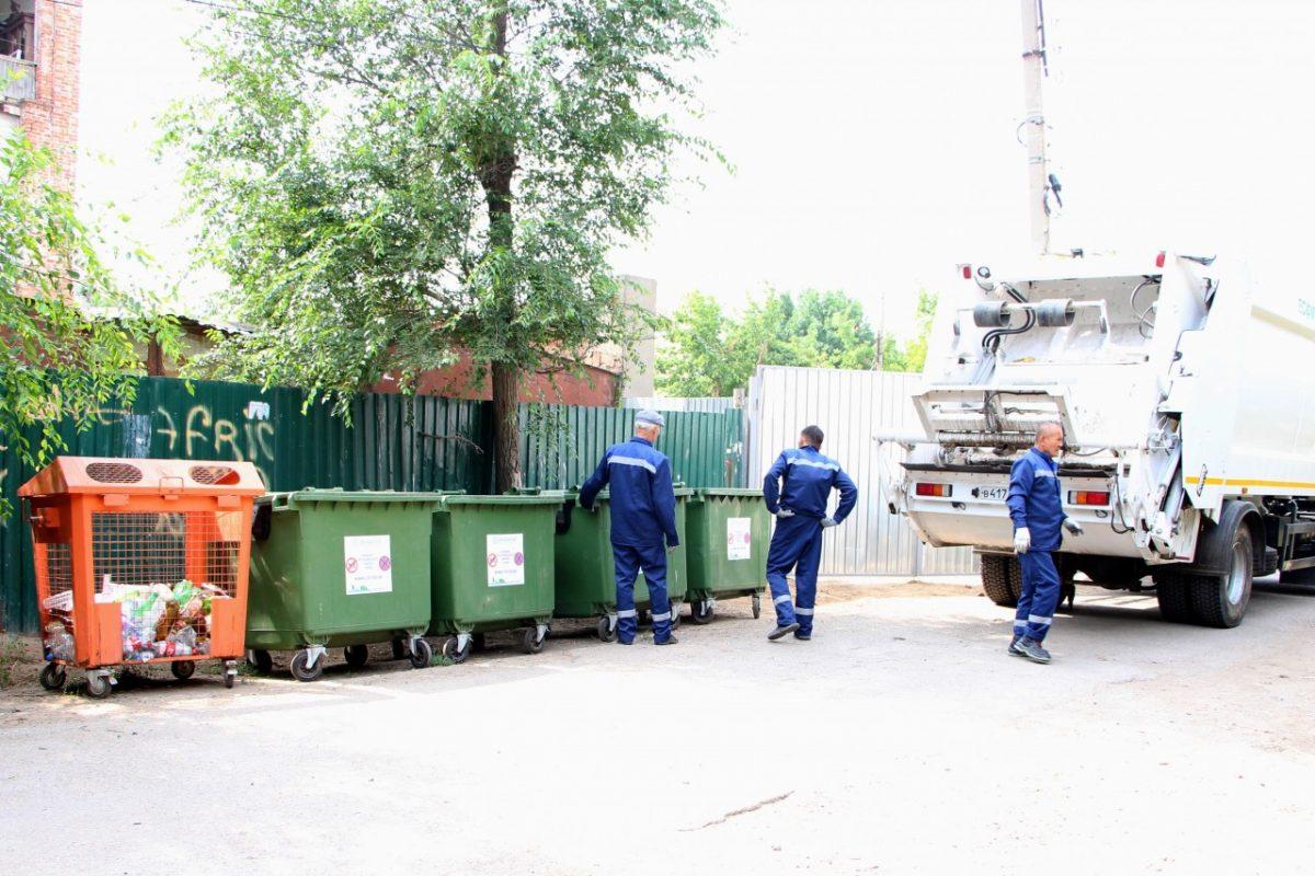На улицах Астрахани можно разом собрать более 350 кубометров пластиковых отходов