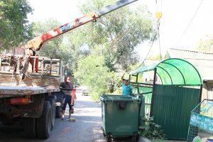 В Астрахани благоустроят 50 контейнерных площадок