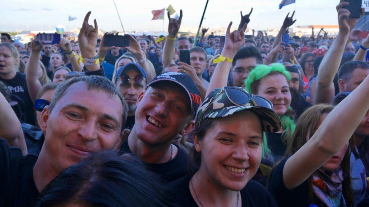 В Тамбове начался рок-фестиваль Чернозём-2019