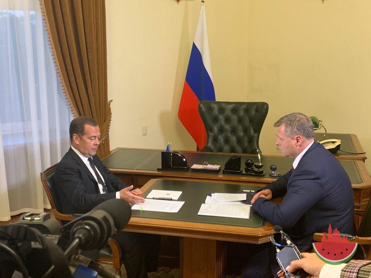 Врио губернатора Игорь Бабушкин обсудил с Дмитрием Медведевым дополнительное финансирование на переселение из ветхого жилья