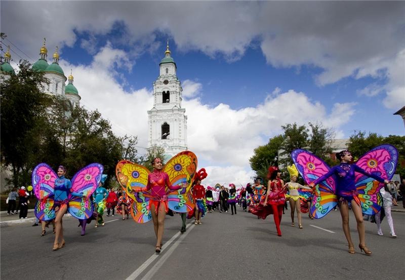 Отмечать День города Астрахань будет целую неделю