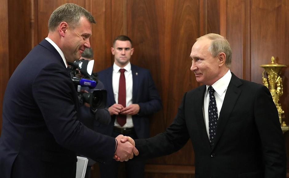 Игорь Бабушкин доложил Путину о непростой ситуации в Астраханской области