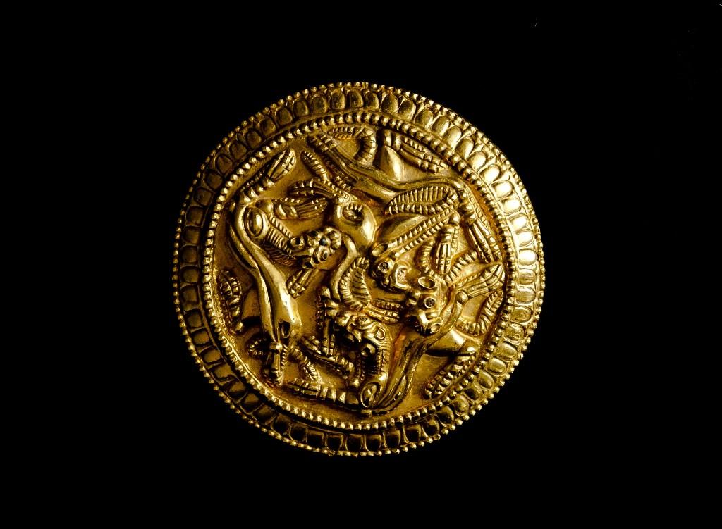 Астраханцам покажут золото сарматов найденное в «яме под мусор»