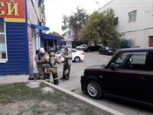 Офис на улице Николая Островского эвакуировали из-за опасных веществ в воздухе