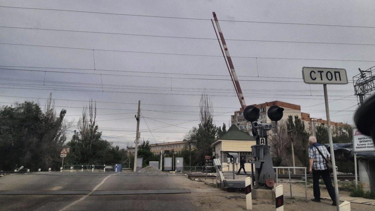 Переезд возле АГТУ перекрывают на ремонт