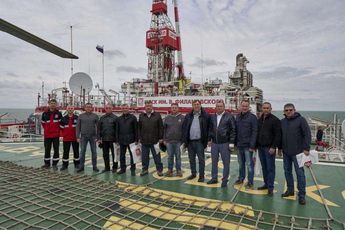 Делегаты Южно-Российской Парламентской Ассоциации посетили объекты ЛУКОЙЛА