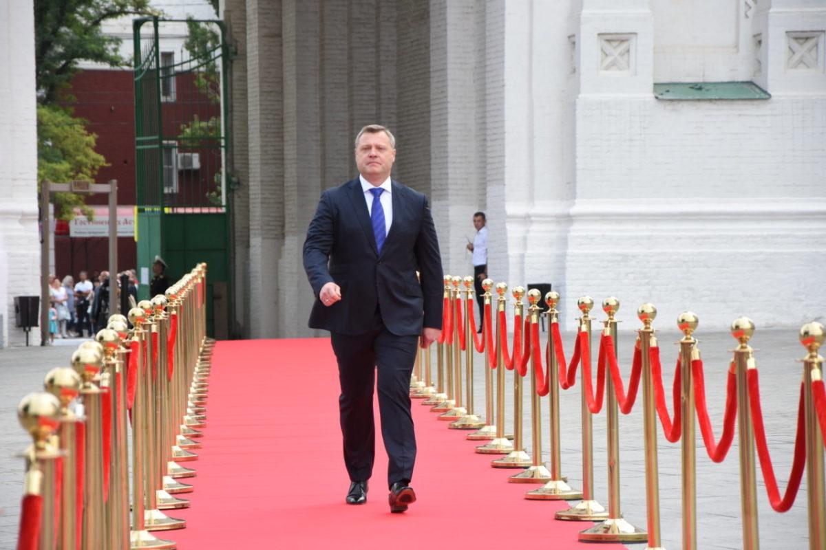 Астраханского губернатора будут охранять офицеры Росгвардии