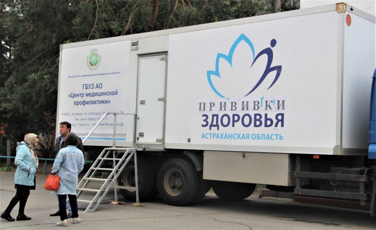 Астраханцам ежедневно делают бесплатные прививки против гриппа