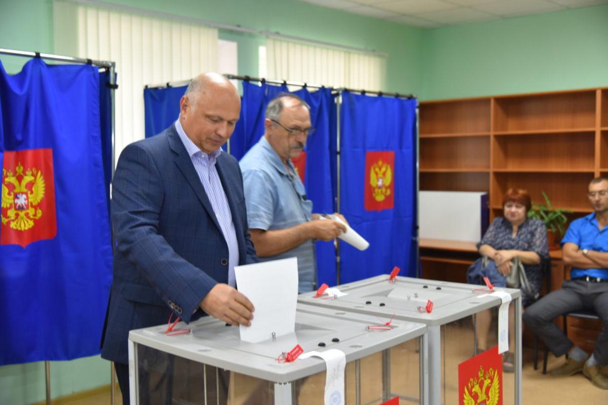 Радик Харисов исполнил свой гражданский долг
