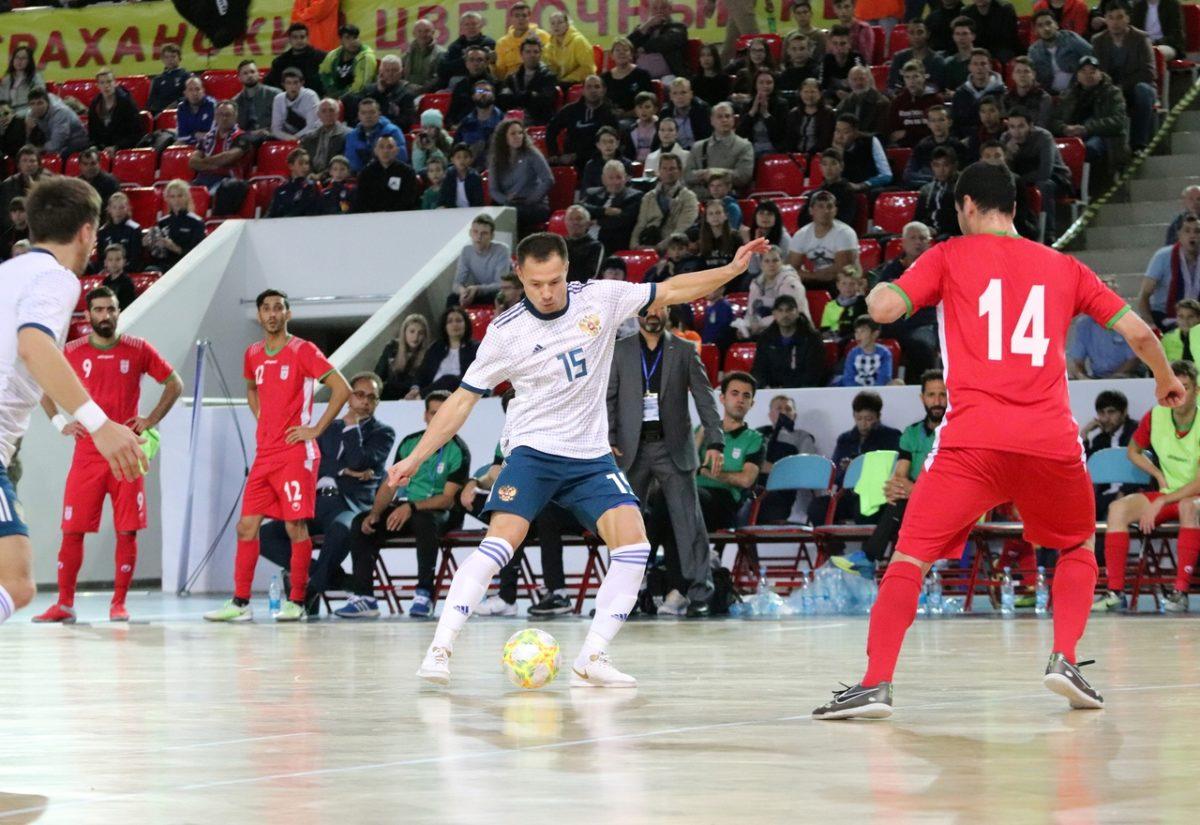 Сборная России выиграла «Кубок Каспия» по мини-футболу