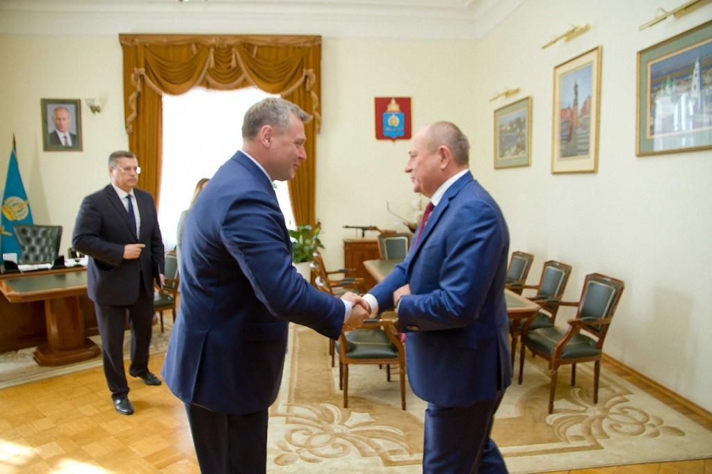 Игорь Бабушкин обсудил с руководством «Газпрома» завершение газификации Астраханской области