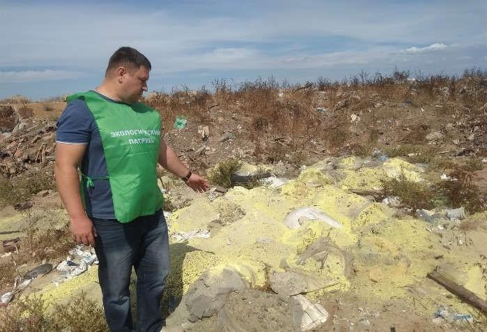Под Астраханью обнаружили свалку серы и черепов