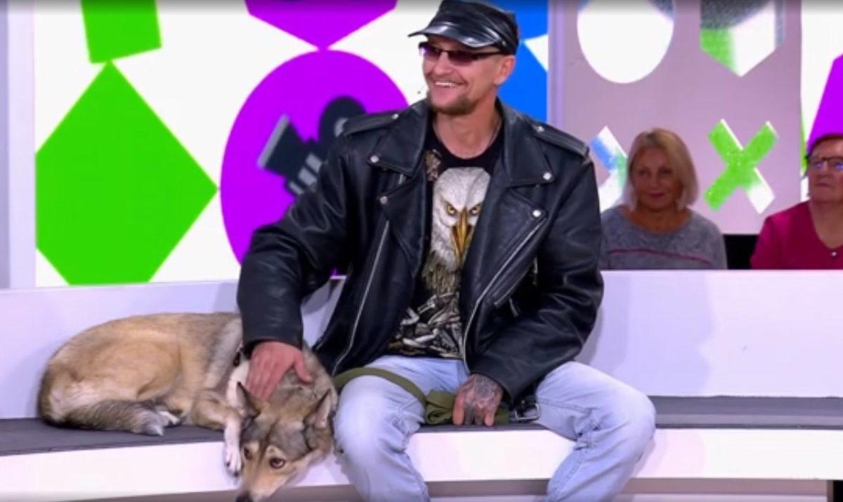 Астраханскую собаку-байкера показали на федеральном канале