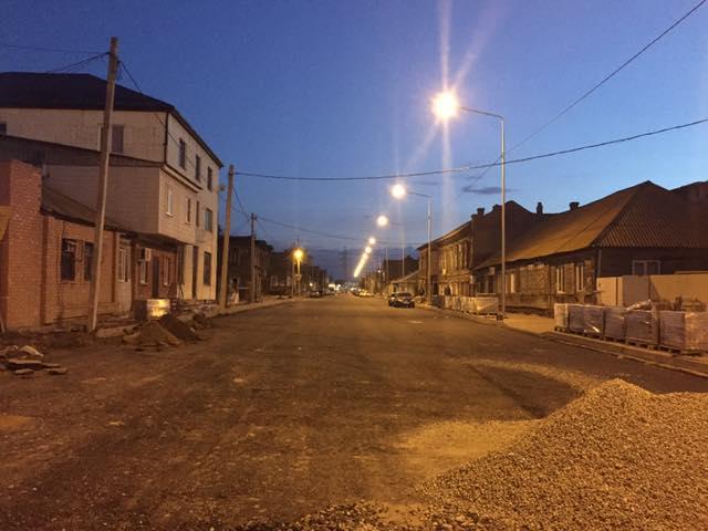 Улица Каховского обретает новый облик