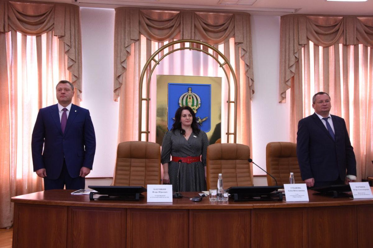 Заседание астраханской городской Думы лично посетил губернатор